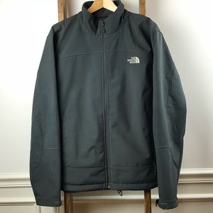 North Face fleece lined jacket. Size XL